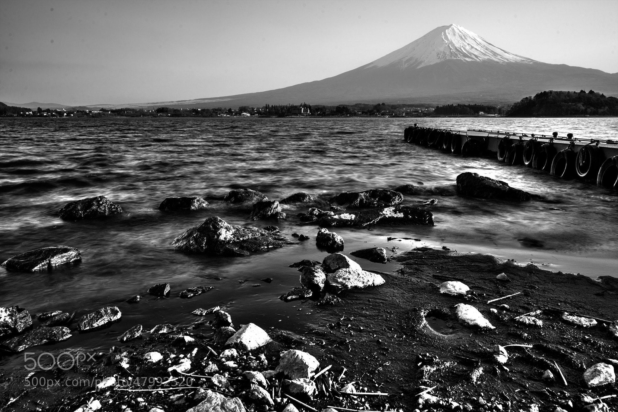 Photograph Mt Fuji Tranquility by hugh dornan on 500px