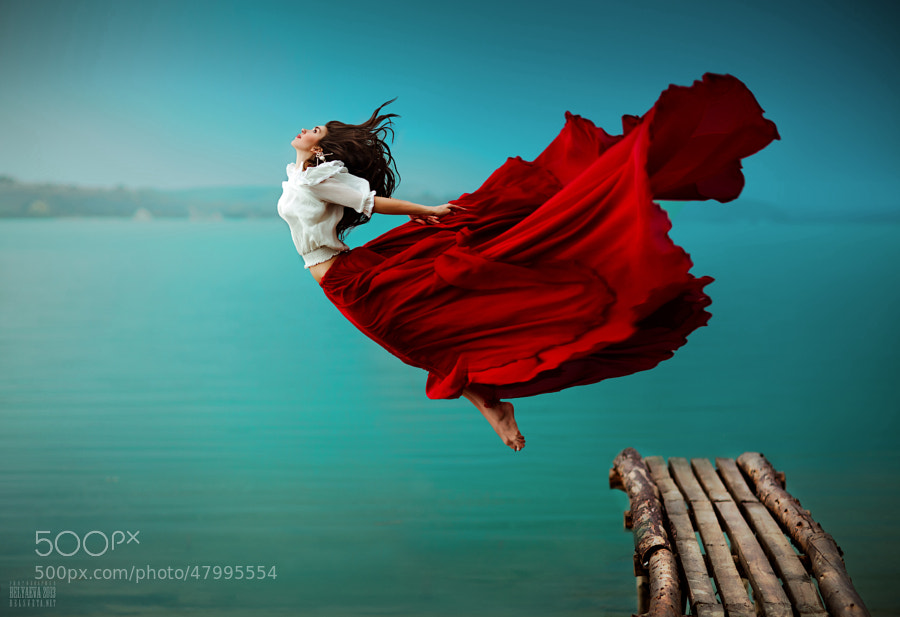 levitation photo - Diving by Svetlana Belyaeva