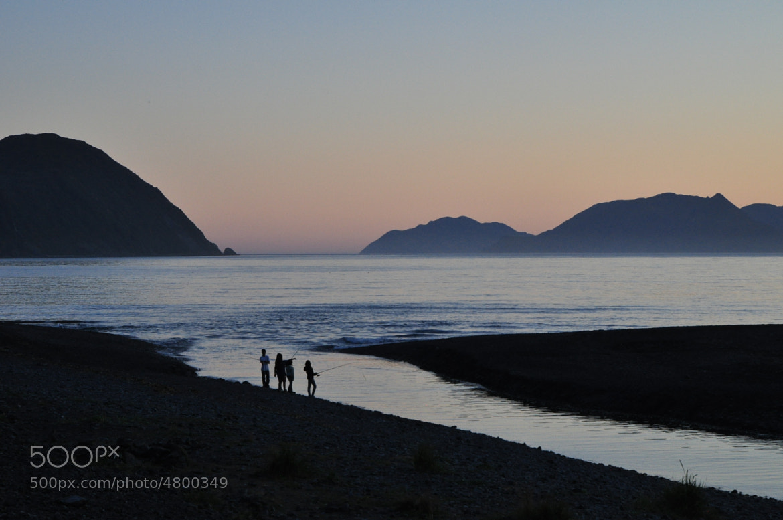 Photograph evening salmonfishing by helmut flatscher on 500px