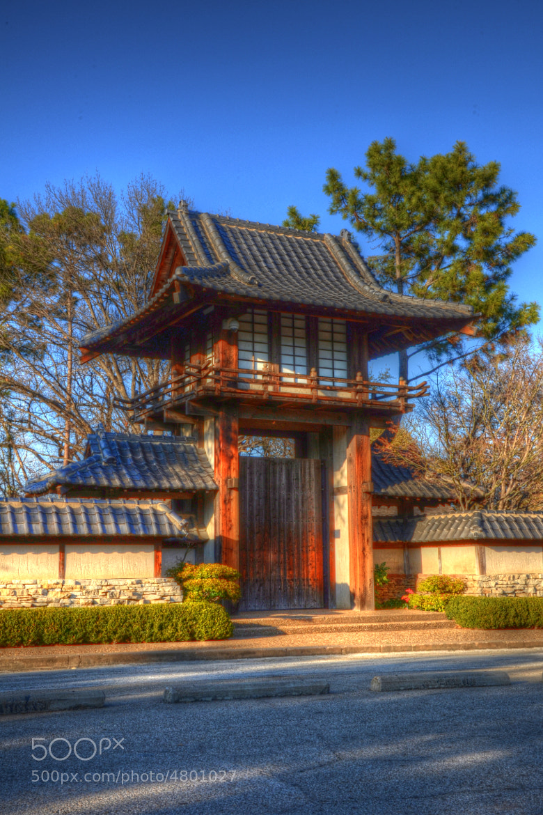Photograph Gates of the Japanese Gardens by Bradley Duncan on 500px