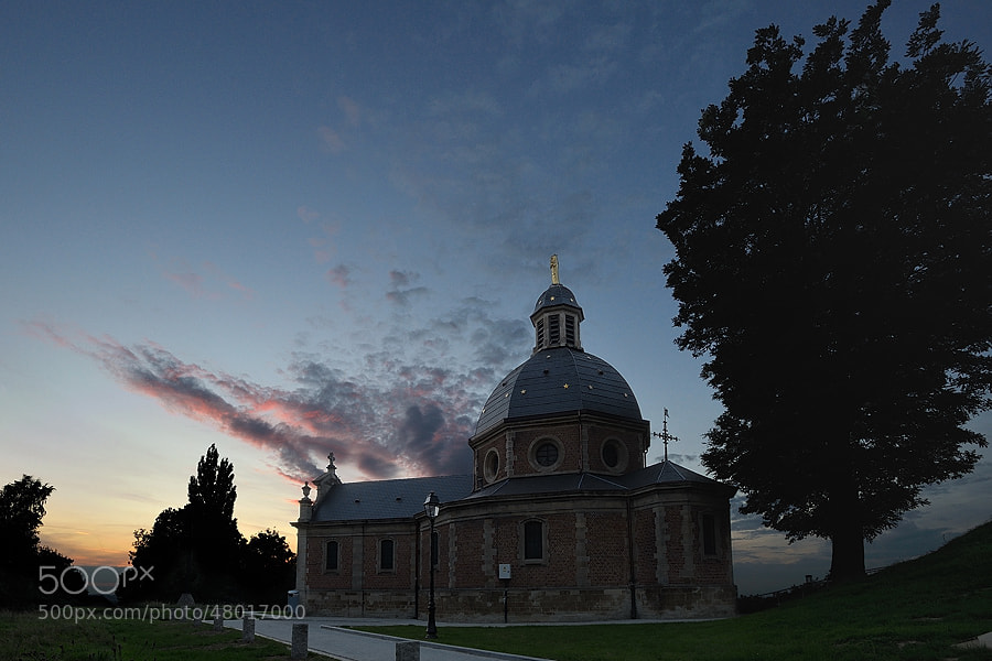 Photograph Chapel by Sunset by Jimmy De Taeye on 500px