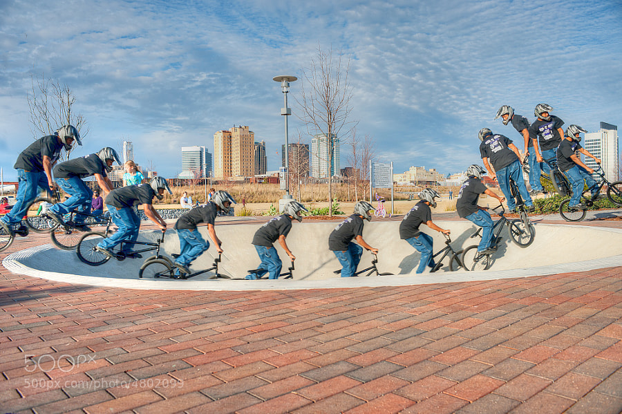 Photograph Bicycle in Railroad Park by David Donaldson on 500px