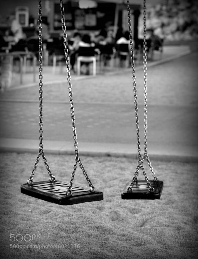 Photograph Empty swings by Orkidea White on 500px