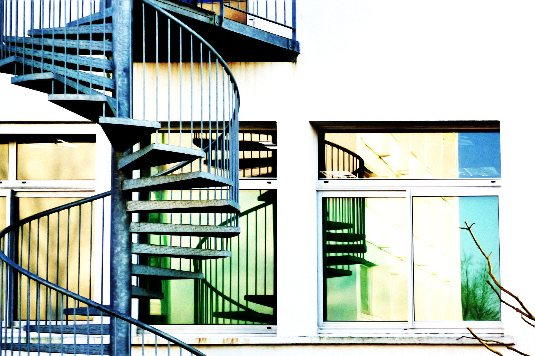 Photograph Stairs of reflection... 2 by Nadine Moynat on 500px
