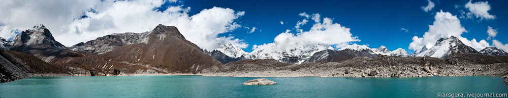 Photograph Environs of Sacred lakes and Gokyo by Arsenii Gerasymenko on 500px