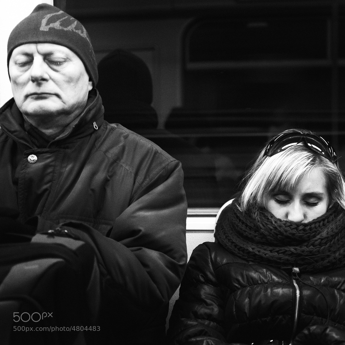 Photograph sleepers in subway by Ondrej Cervinka on 500px