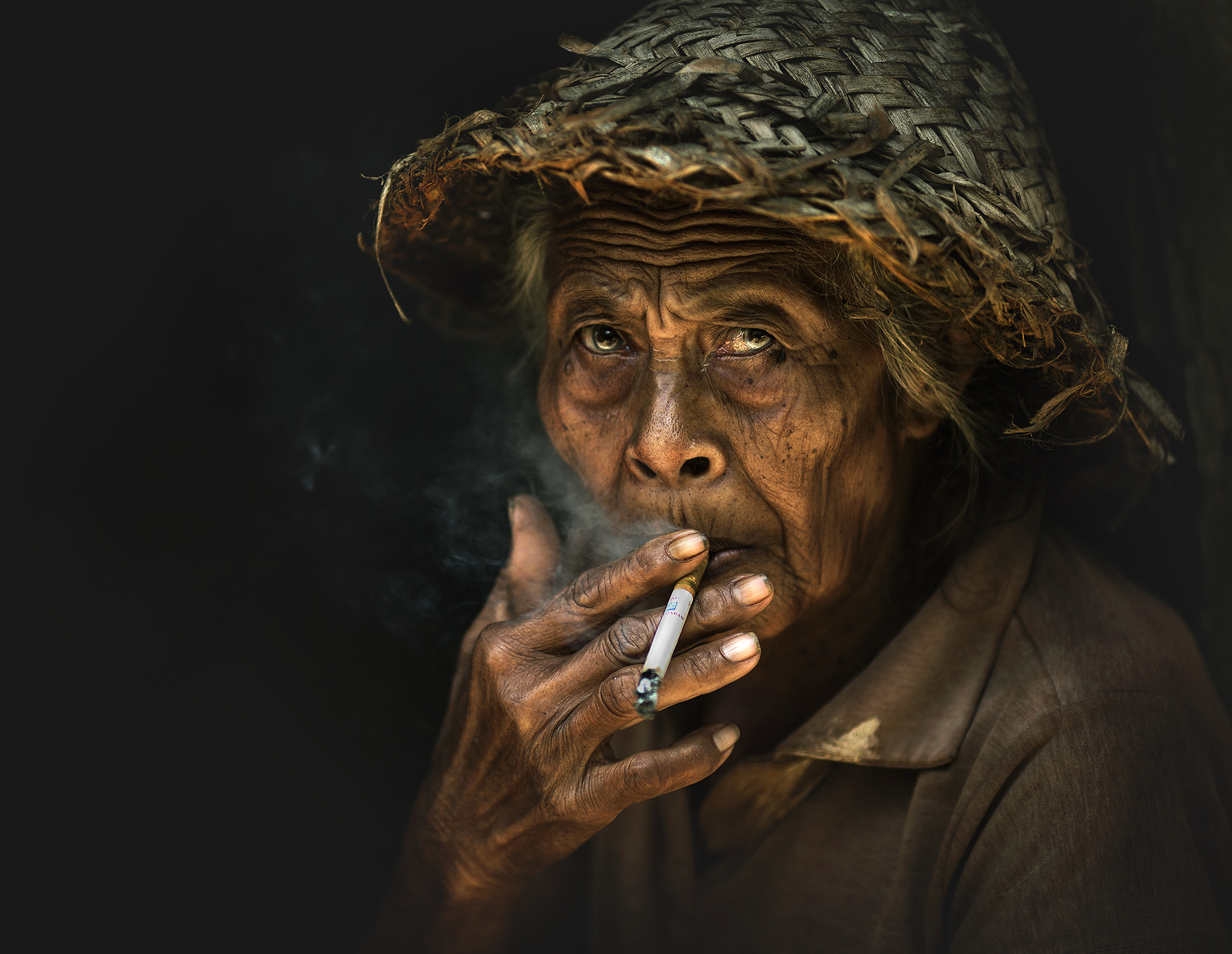 Photograph SMOKER FROM BALI by abe less on 500px