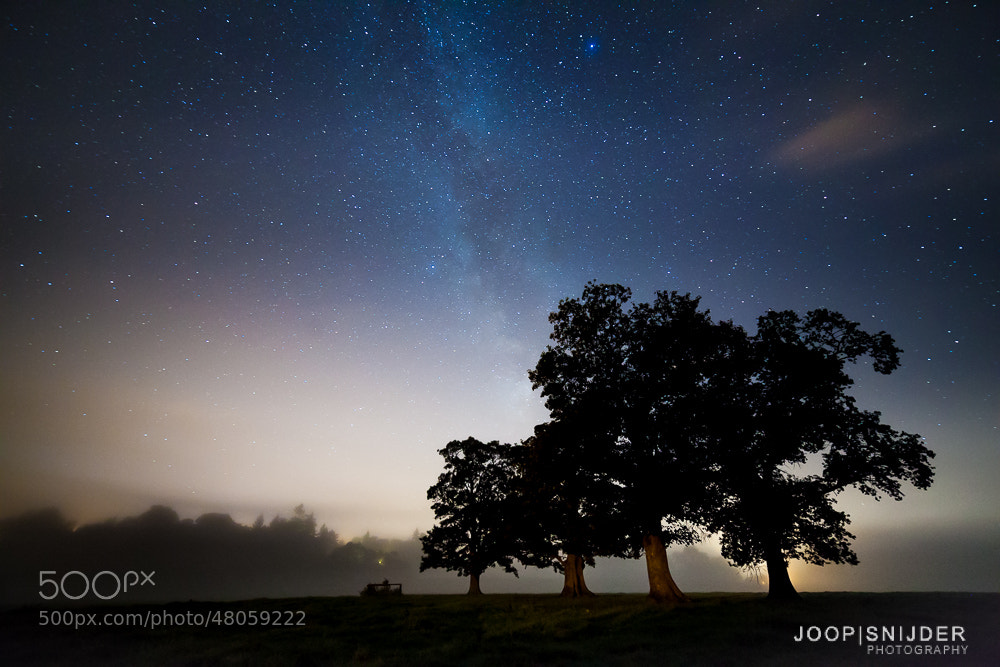 Photograph Misty Evening by Joop Snijder on 500px
