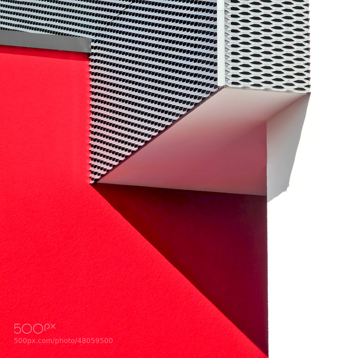 Photograph Red Architecture by Juergen Novotny on 500px