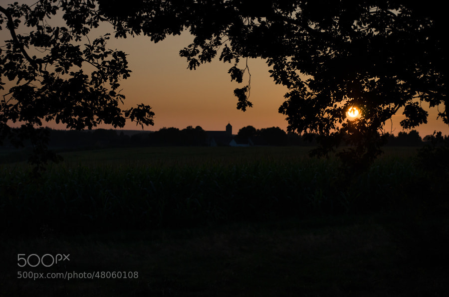 Photograph night is comming by Gunter Werner on 500px