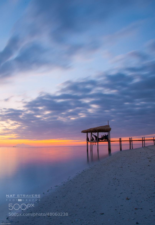 Photograph Sunset at Kanawa Island by Nathalie Stravers on 500px