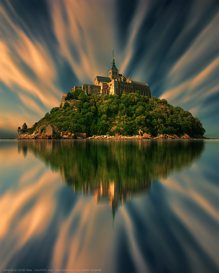 Photograph Mont Saint Michel (Color Version) by Peter From on 500px
