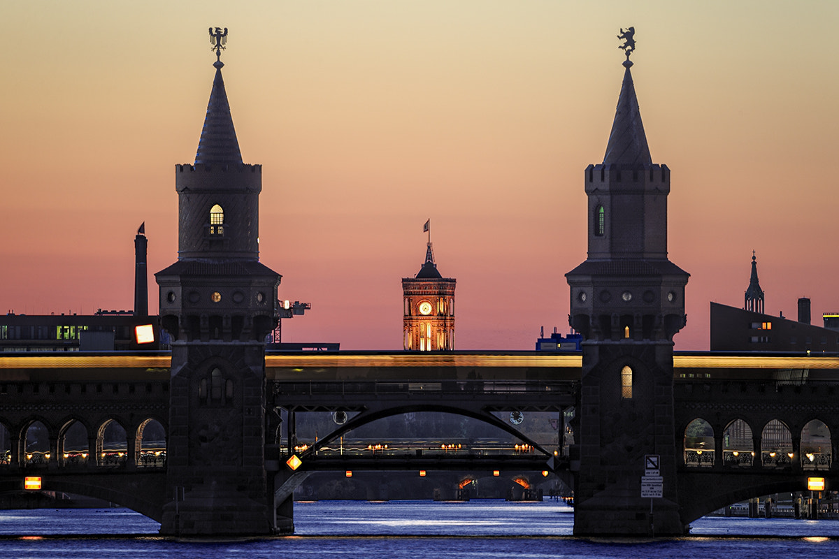 Photograph Oberbaum Sunset by xflo : w on 500px