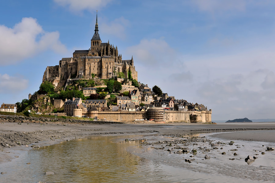 Photograph Mont Saint-Michel by Angelo Ferraris on 500px