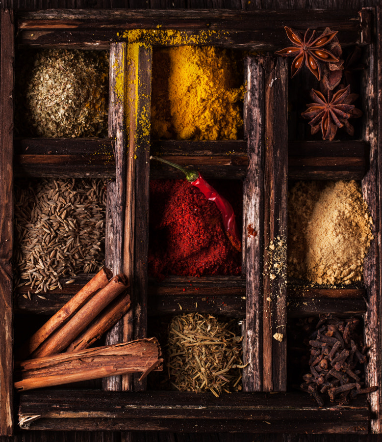 Photograph Spices by Natasha Breen on 500px