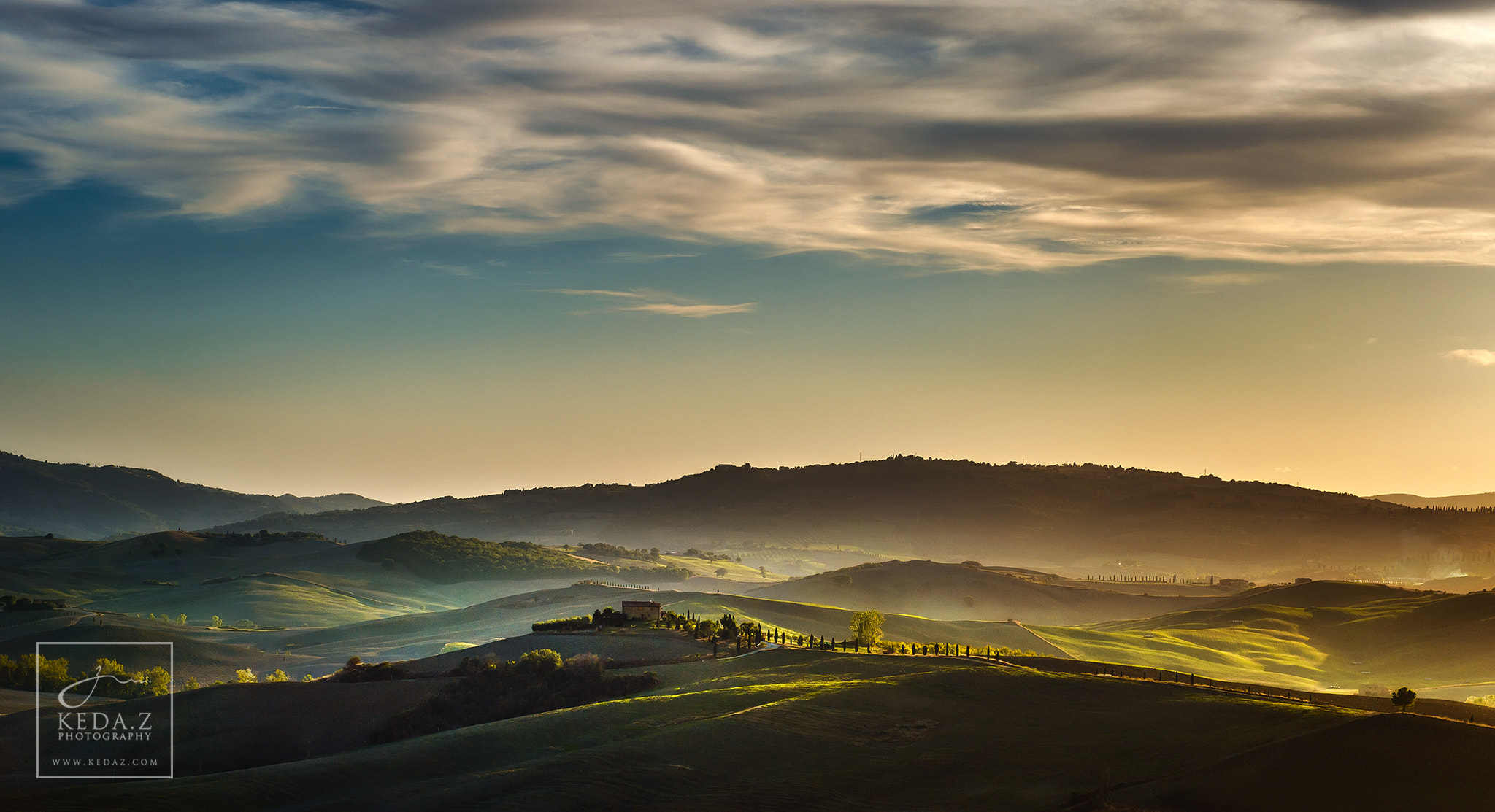 Photograph Tuscany by Keda.Z Feng on 500px