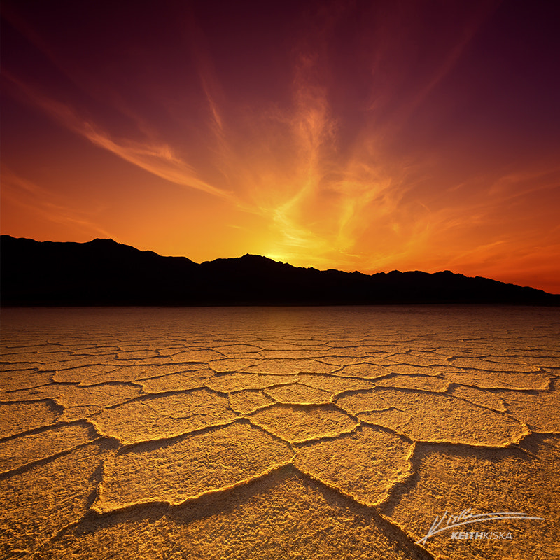 Photograph Badwater Sunset by Keith Kiska on 500px