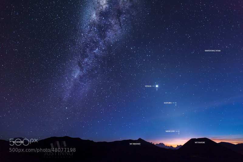 Photograph Milkyway at Dusk by Justin Ng on 500px
