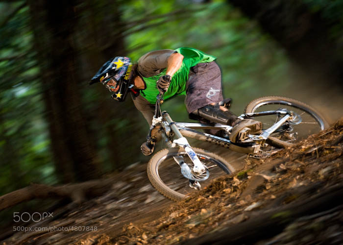 Photograph Ripping new trails by Scott Markewitz on 500px