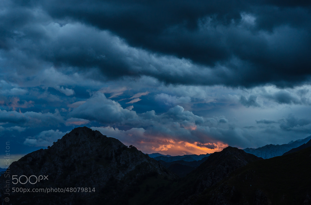 Photograph Stormy Sunrise - Mountains of Asturias by John Shackleton on 500px