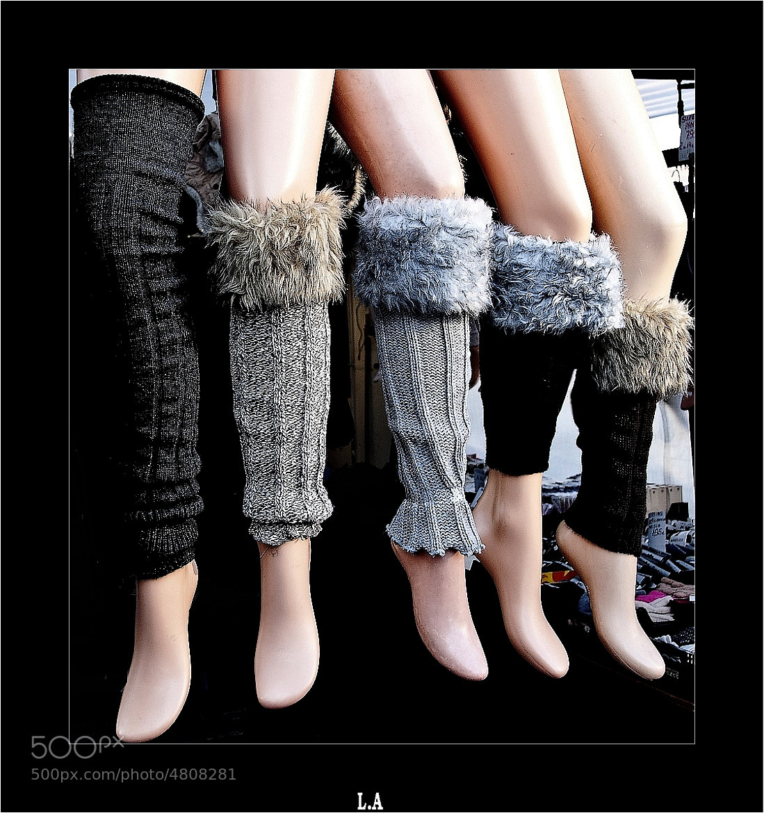 Photograph Legs - Two pairs and an one-legged woman by Loïc Auffray on 500px