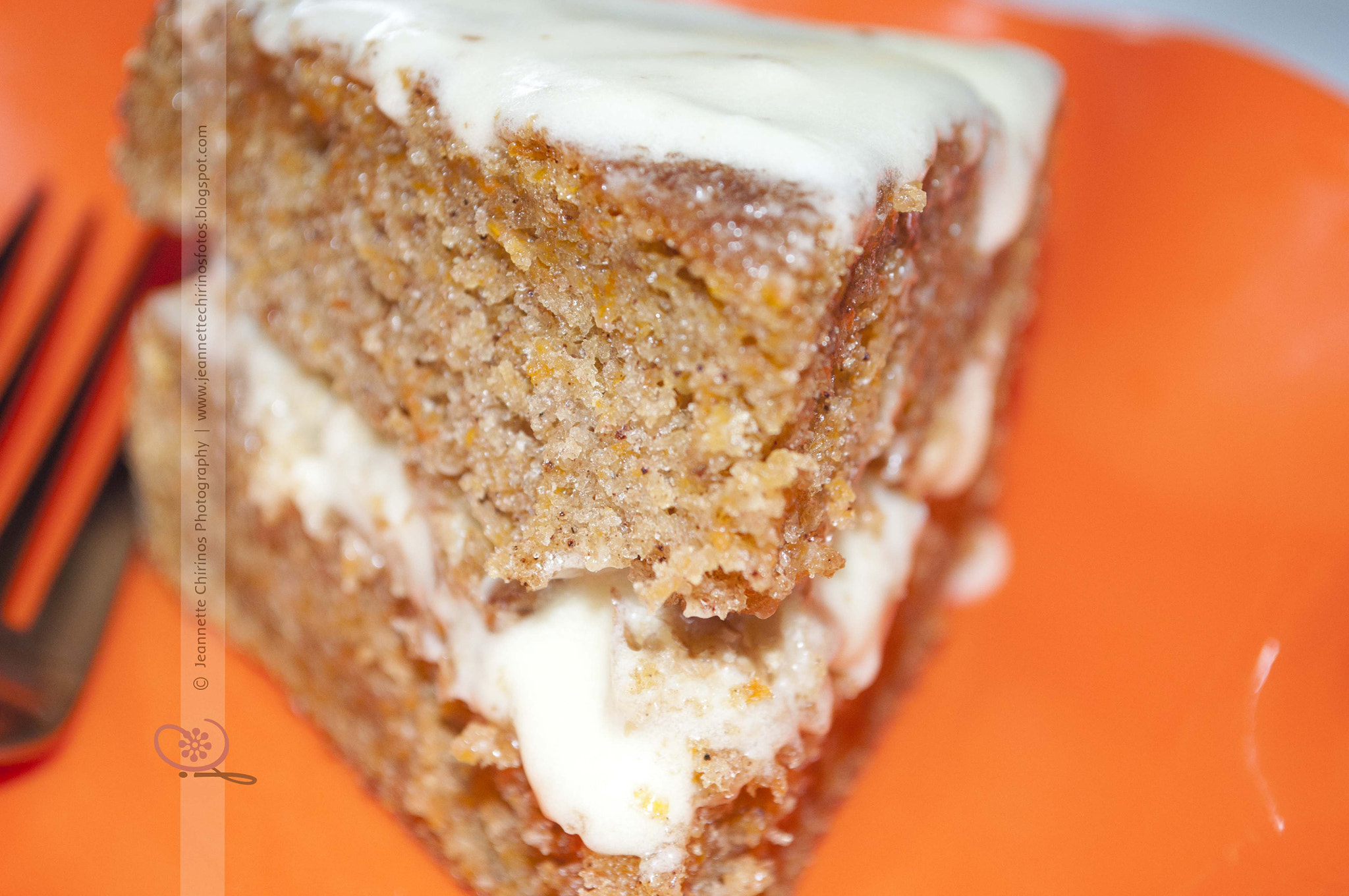 Photograph Carrot Cake Close-Up by Jeannette Chirinos Gold on 500px