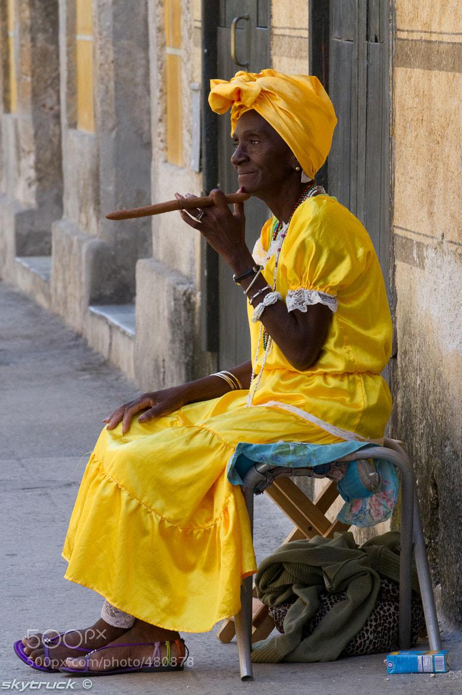Photograph Cigar Grannie by Mikhail Shklyarenko on 500px
