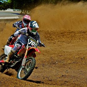 Texas motocross action