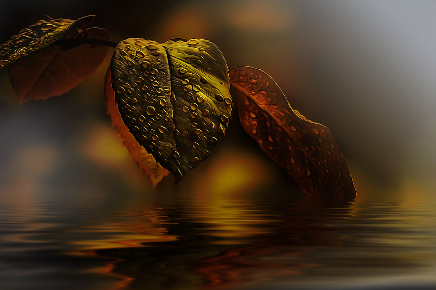 Photograph leaves_art by Detlef Knapp on 500px
