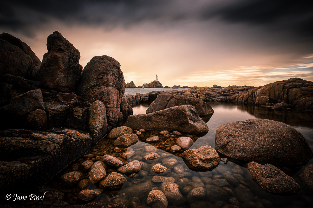 Photograph Corbiere Autumn Rocks by Jane Pinel on 500px