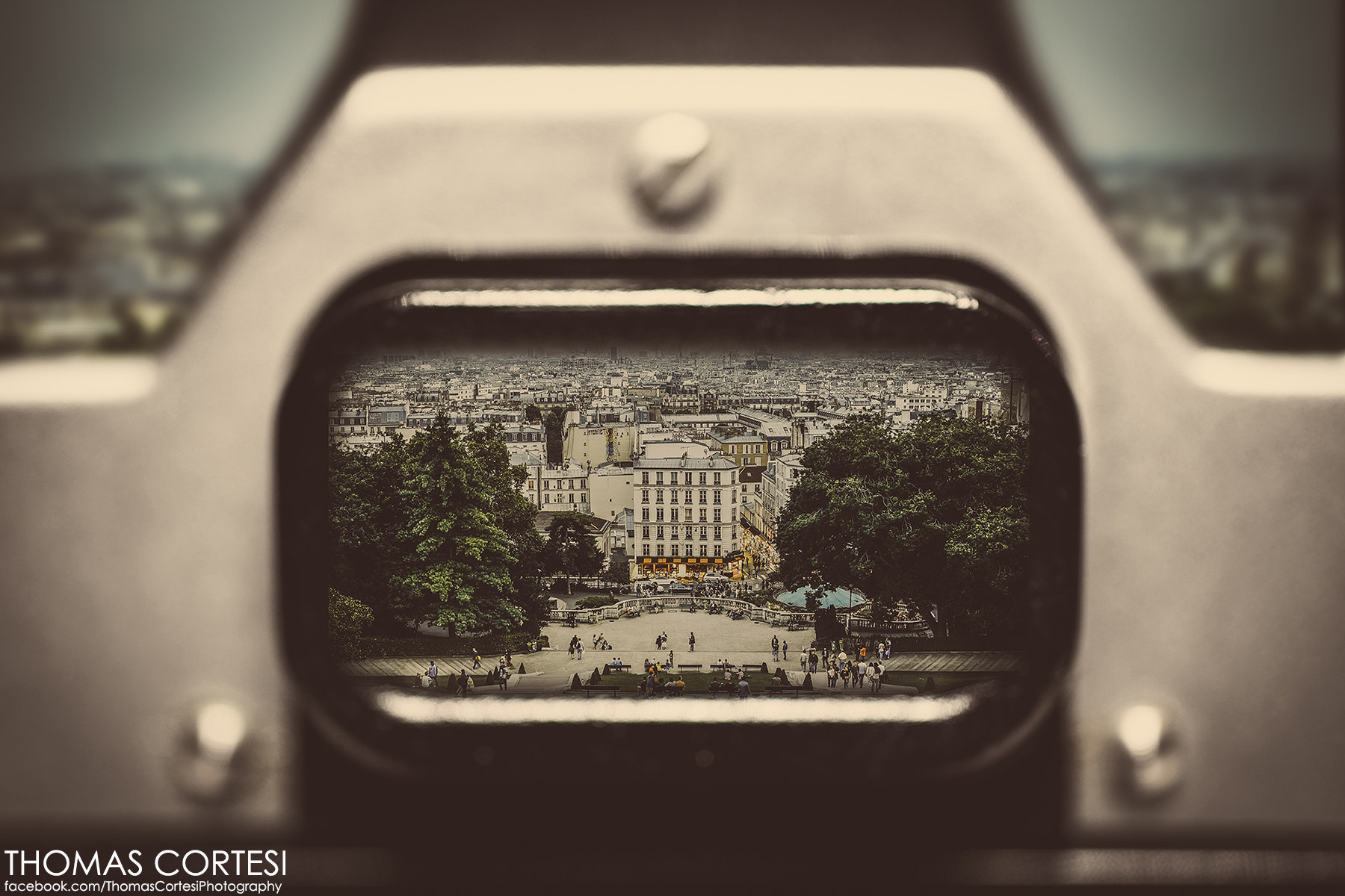 Photograph Montmartre in the camera by Thomas Cortesi on 500px