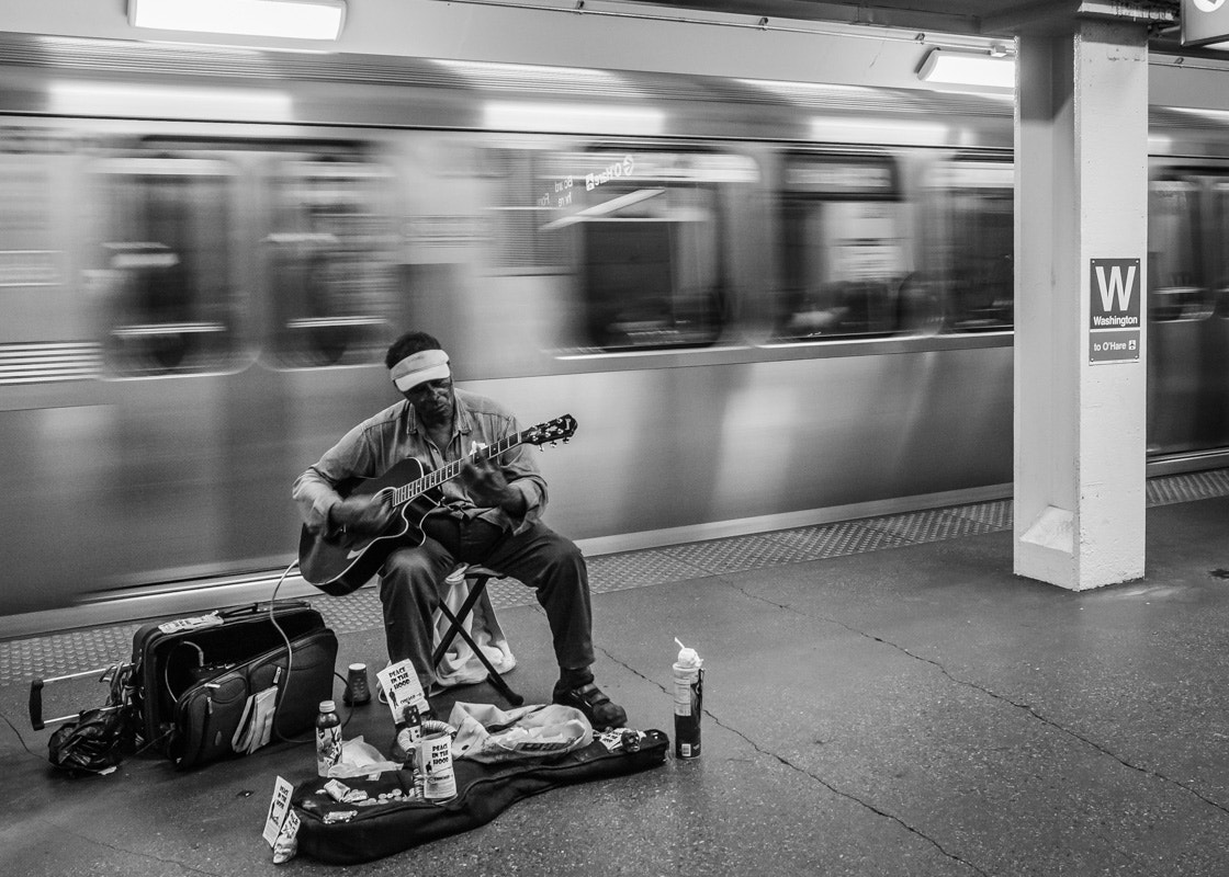 Photograph Subway Blues by Chilehead Craig on 500px