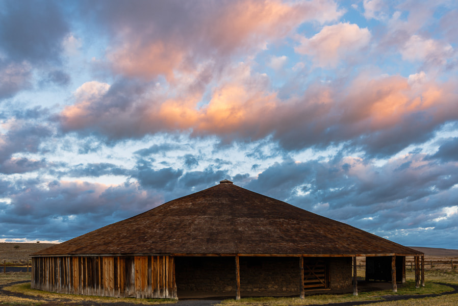 Photograph Roundbarn by Michael Flaherty on 500px