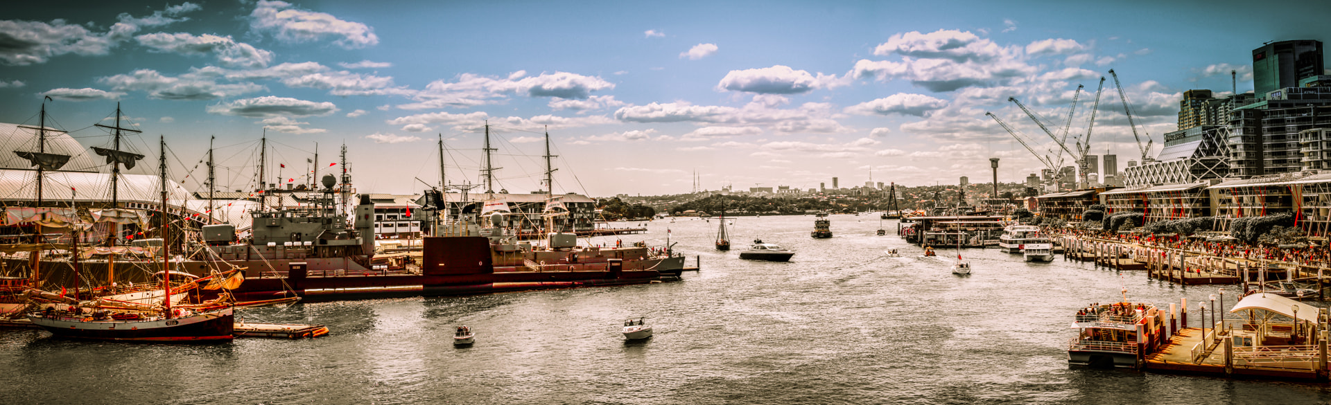 Photograph Sydney Fleet Review by Igor Kasalovic on 500px