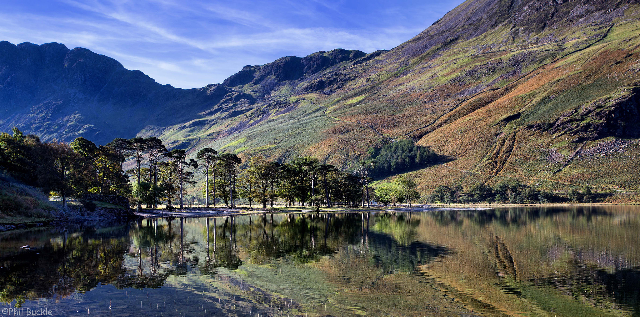 Photograph Buttermere Reflection by Phil Buckle on 500px