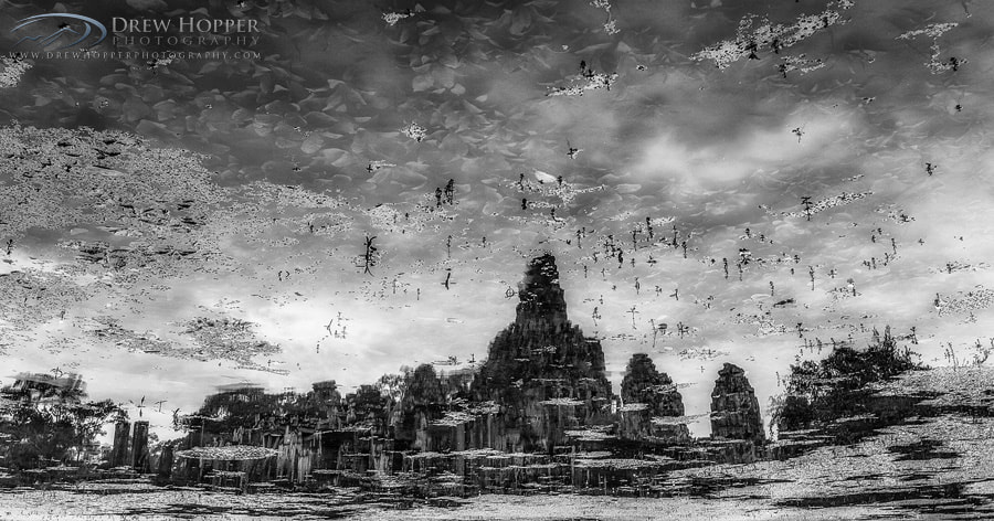 Photograph Reflective Bayon by Drew Hopper on 500px