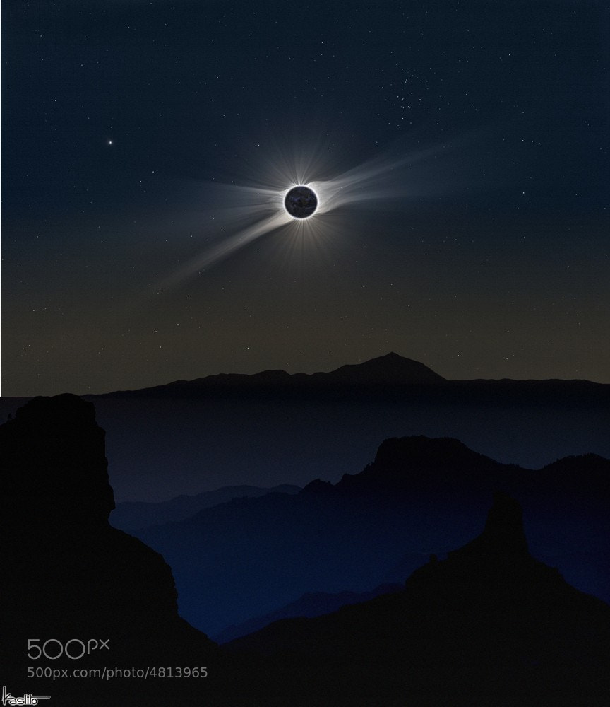 Photograph Total eclipse by kaslito on 500px