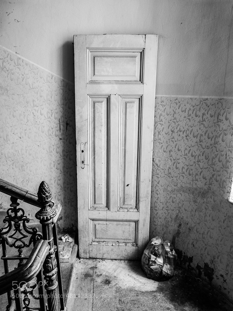 Photograph The door and the bin bag. by Michal Jenčo on 500px
