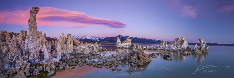 Photograph Mono Lake Panorama by Keith Kiska on 500px