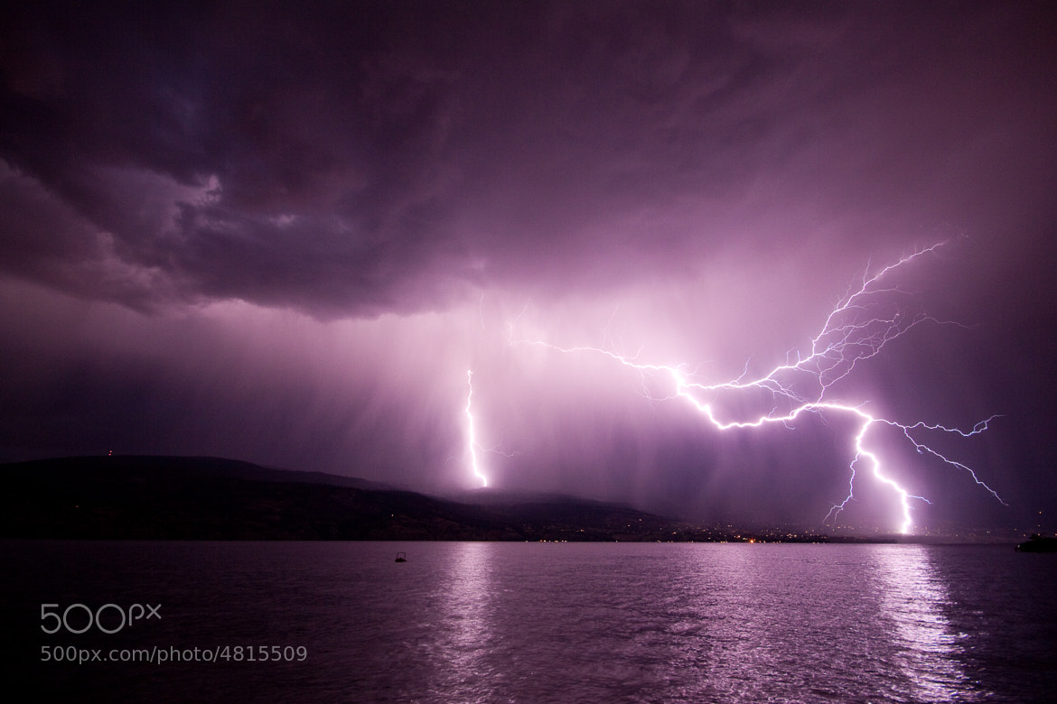 Photograph Okanagan Strike by Tristan Rayner on 500px