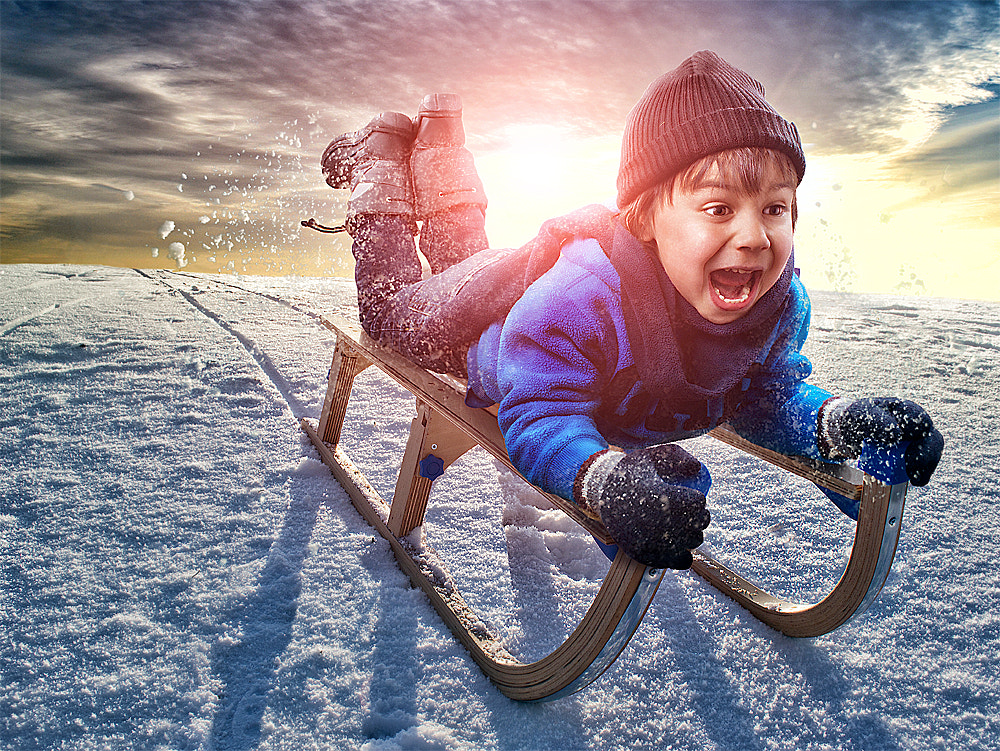 Photograph Snow fun by Adrian Sommeling on 500px