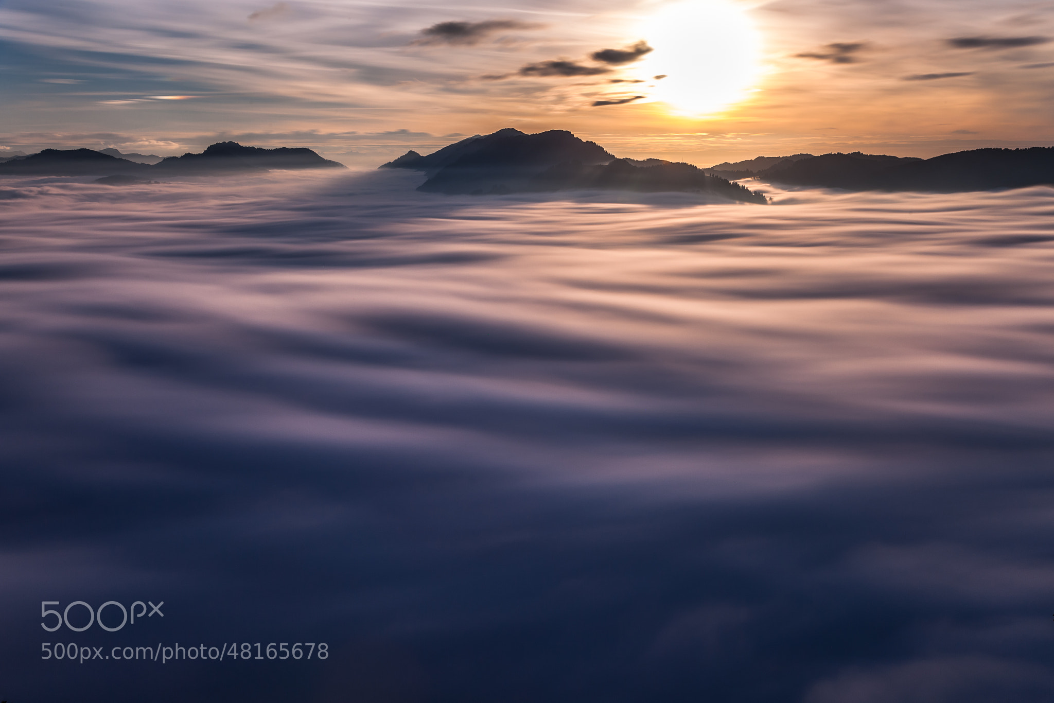 Photograph Sea of Clouds by Alex Fuchs on 500px