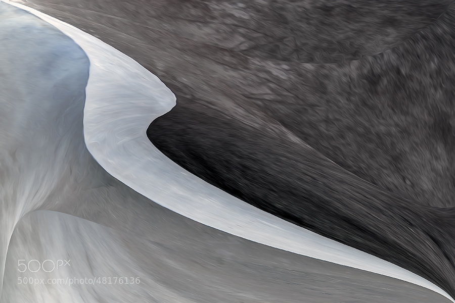 Photograph glacier by Gilbert Claes on 500px
