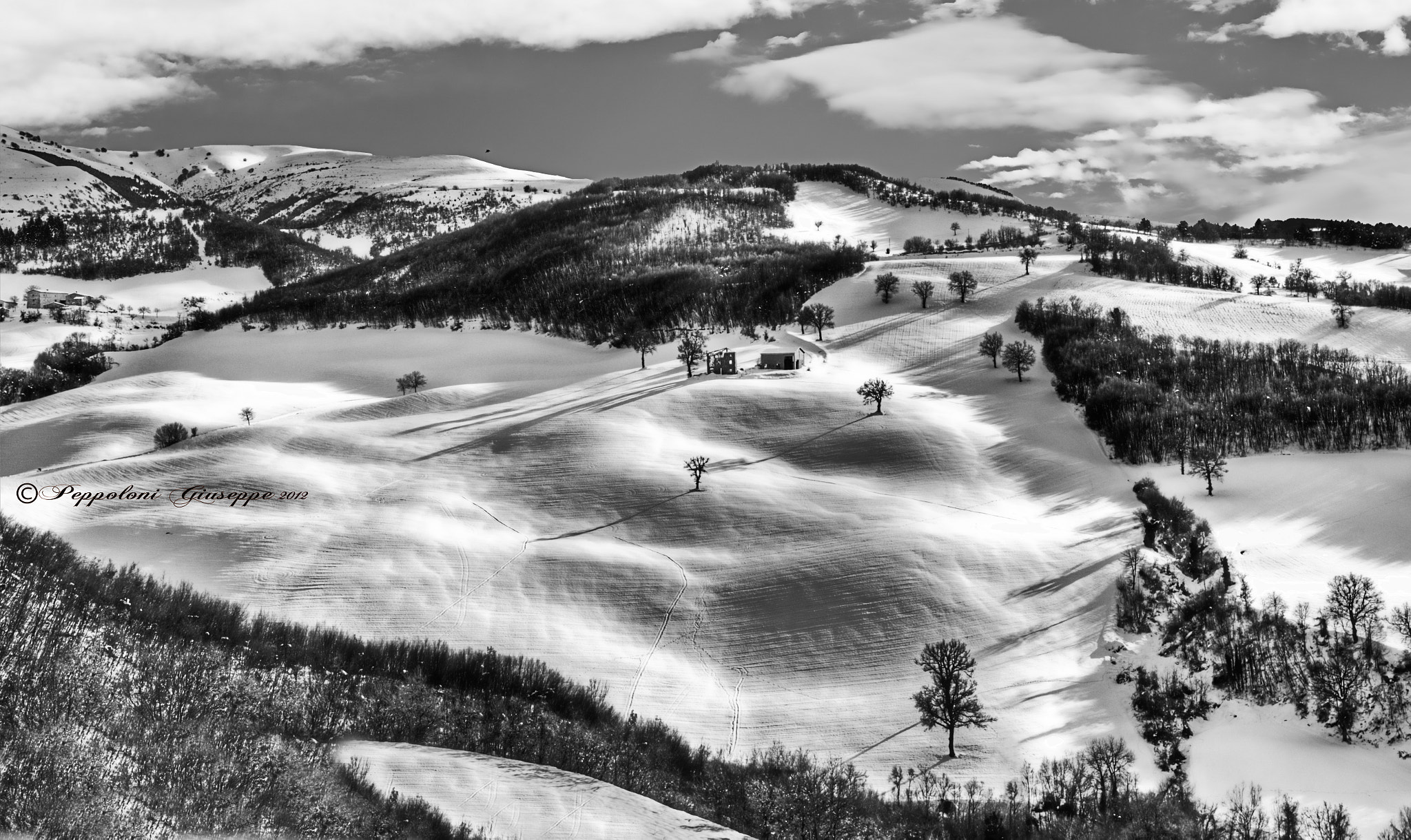 Photograph Monti Sibillini in B/W by Giuseppe  Peppoloni on 500px