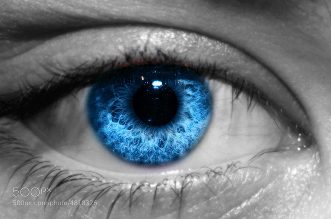 Photograph Blue Spanish Eye by Maybelle Dumlao- Sevillena on 500px