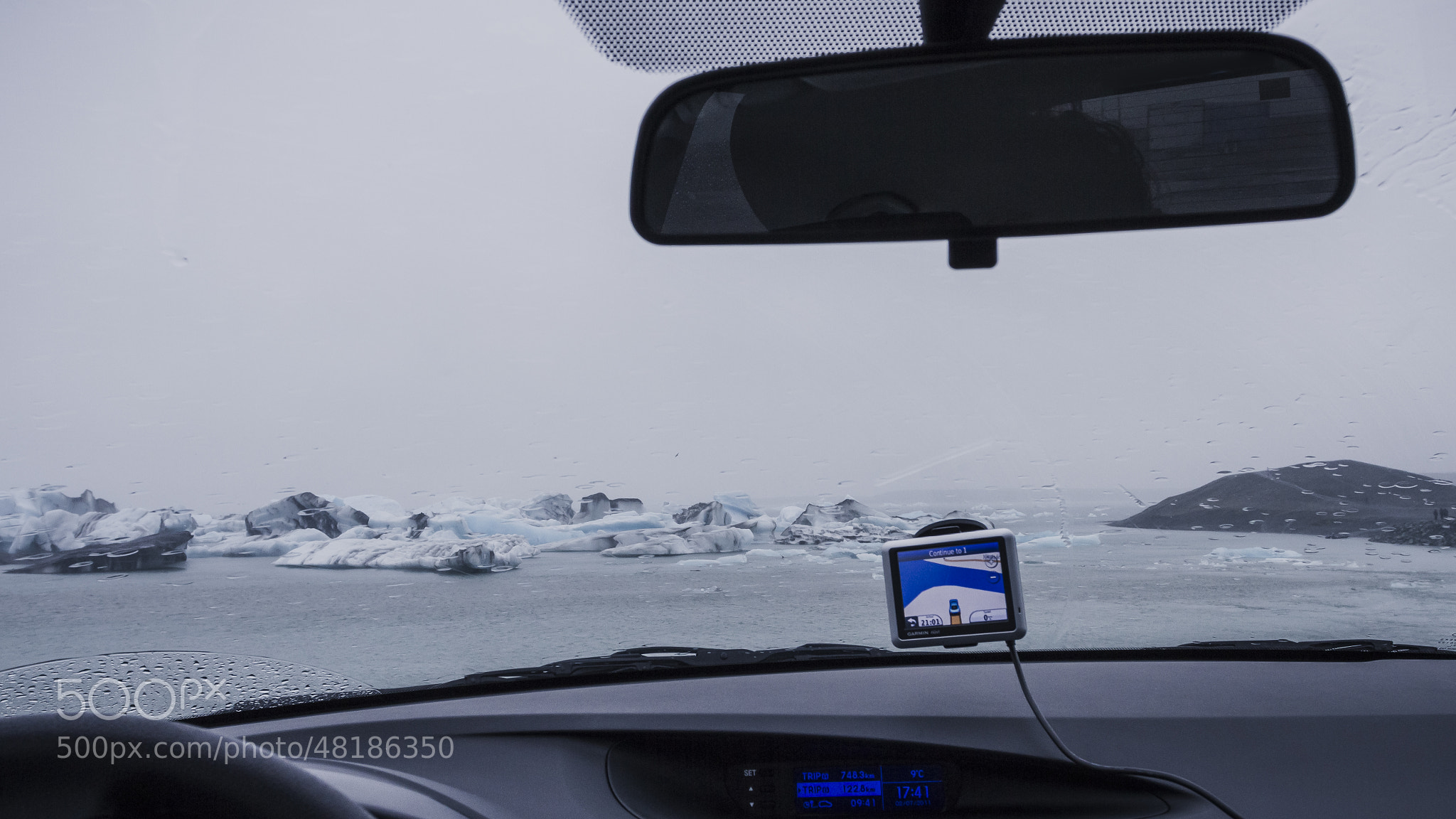 Photograph Driving in Jökulsárlón, literally! by Giovanni Antico on 500px