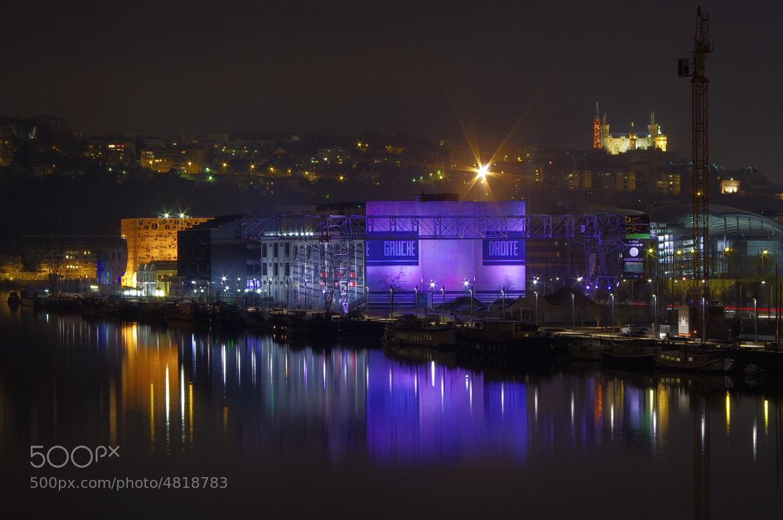 Photograph  Lyon couleurs du quartier confluence by serge vincent on 500px