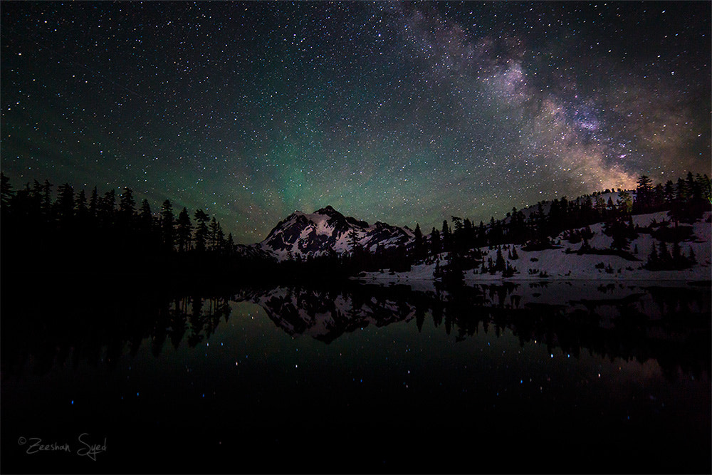 Photograph Milky Way - Mount Shuksan by Zeeshan Syed on 500px