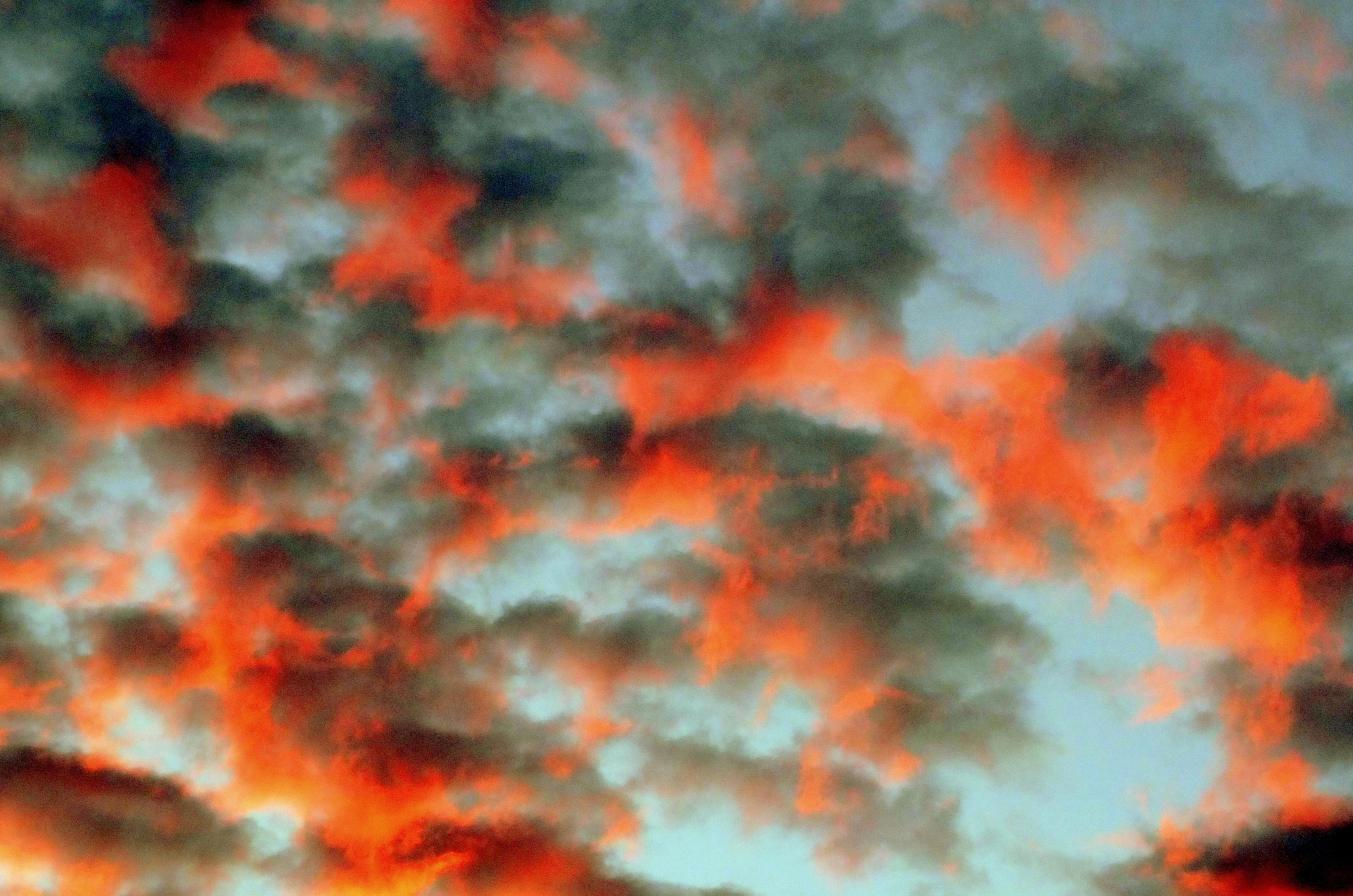 Photograph Fiery Clouds by Simon Wilson on 500px