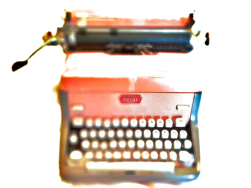 Photograph Pink Typewriter by Doug Eymer on 500px